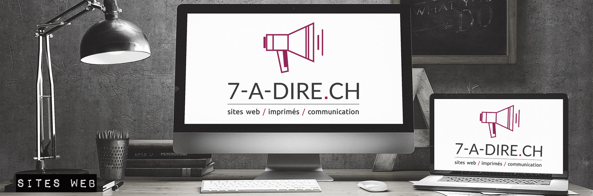 7-A-DIRE.CH -  réalisation de sites web